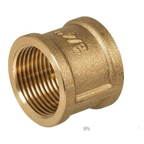 "Brass Socket - 3/4"" (Female) x 3/4"" (Female)"