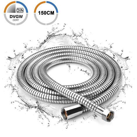 1.5m Spiral 150cm Brauseschlauch Spiral Flexibel Duschschlauch Brausenschlauch