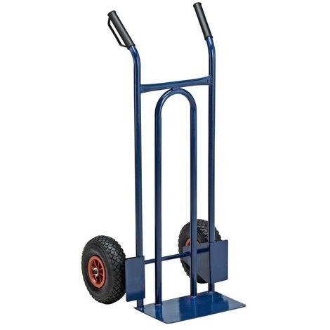 Carrello portapacchi universale 2 ruote pneumatiche portata max 200Kg C1299047