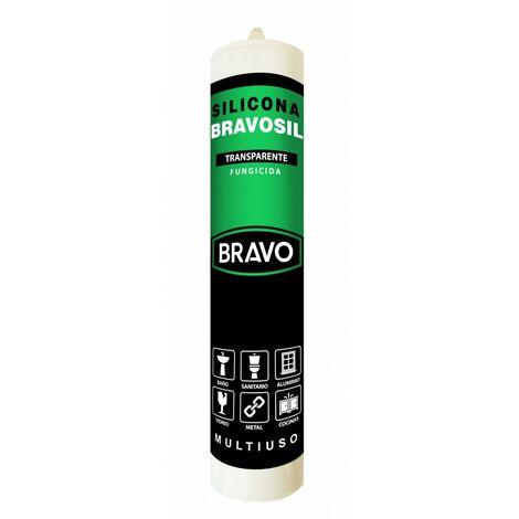 Bravo Silicona multiuso F blanca cart.