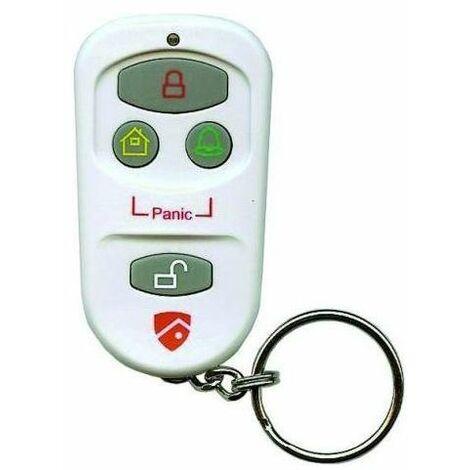 """main image of """"Bravo telecomando wireless per allarme scudo multifunzione 3 tasti allarme/alert/home, 1 tasto off"""""""