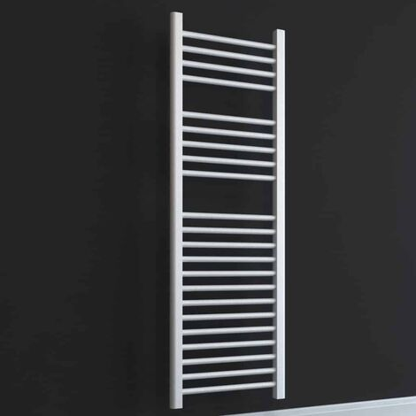 BRAY ELEMENTS Straight Heated Towel Rail / Warmer - Electric + Thermostat, Timer
