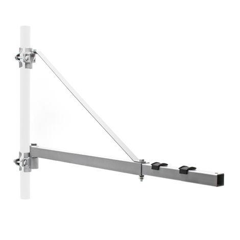 Brazo giratorio polipasto 600kg 110cm soporte marco accesorio cabrestante