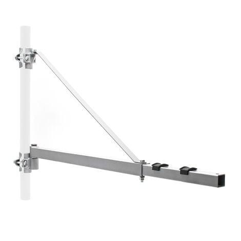 Brazo giratorio soporte para luz de carga con extensión de 1100mm y hasta 600 kg