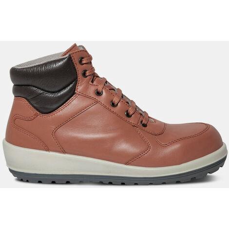 Brazza 1728- Chaussures de sécurité montante pour femme niveau de sécurité S3 - Femme - taille : 42 - couleur : Rouge - PARADE - Rouge