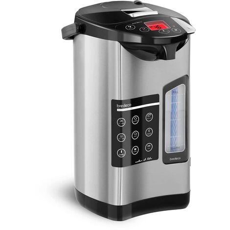 Bredeco Termo Dispensador Eléctrico de Agua Acero Inoxidable 40-100 °C 5L