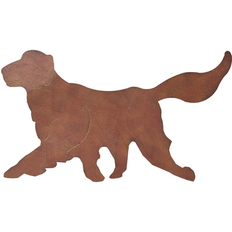 Hund Deko.Brema 124375 Stecker Hund Deko Metall Erdspieß Garten Neu