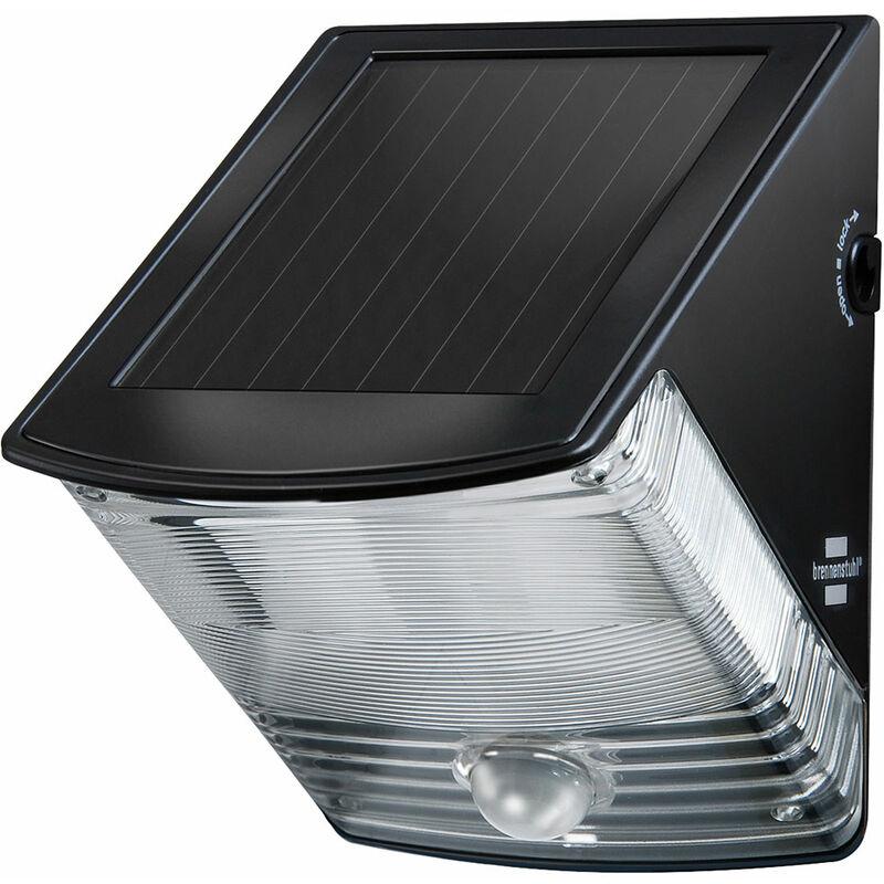 Image of 1170970 Solar LED External Light SOL 04 plus IP44 Black - Brennenstuhl