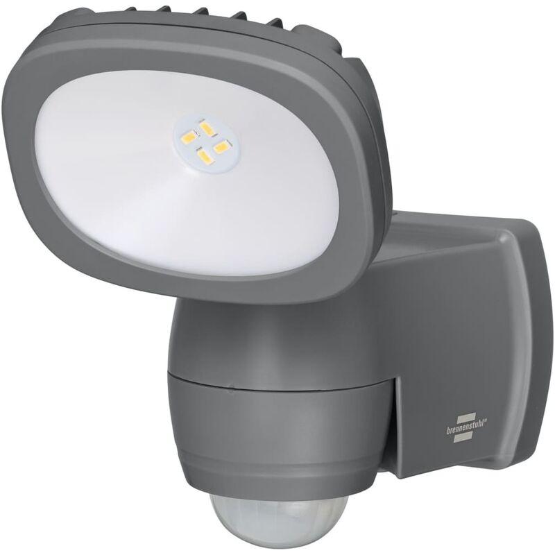 Image of Brennenstuhl Battery LED Spotlight LUFOS PIR IP44 10m - Black