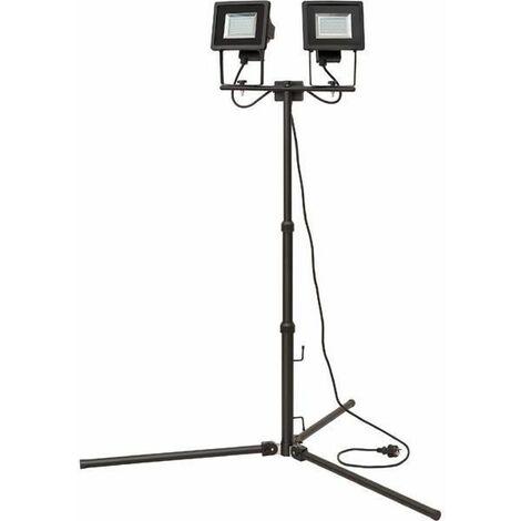 Brennenstuhl 1179280420 Duo-Projecteur LED Aluminium 12 W Noir 94 x 156 cm