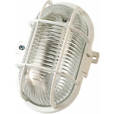 Brennenstuhl 127 042 0 Bulk Head Light 60W Oval Ip44 White