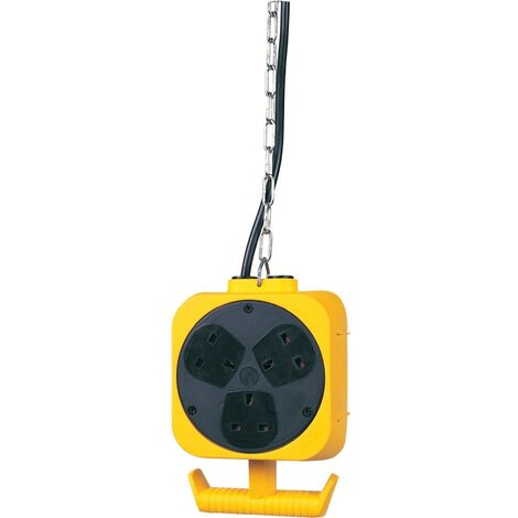 Brennenstuhl 5M Energy Cube 13A 3M Hanging Chain