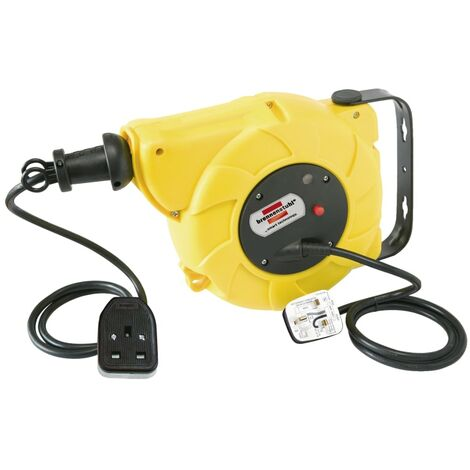 Brennenstuhl Auto Cable Reel 240V 13A 1-Socket 9+2m
