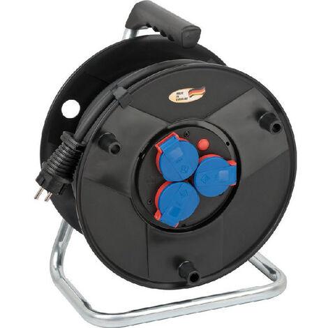 Brennenstuhl BAT Enrouleur de câble IP44 30m H07RN-F 3G2,5 - 1098570024