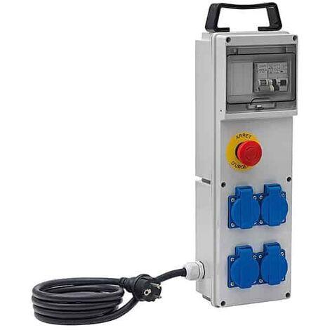 BRENNENSTUHL Boîtier de distribution électrique BD4M/16/AU - 1154911