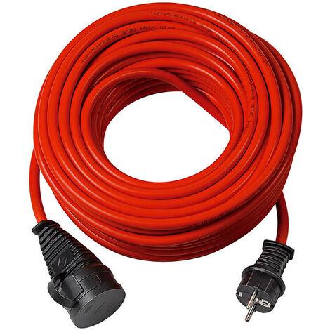Brennenstuhl 1169860 Rallonge Bremaxx IP44 rouge - AT N05V3V3-F 3G1,5 - 50m