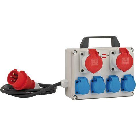 Brennenstuhl Distributeur de courant BKV 2/4 T IP 44