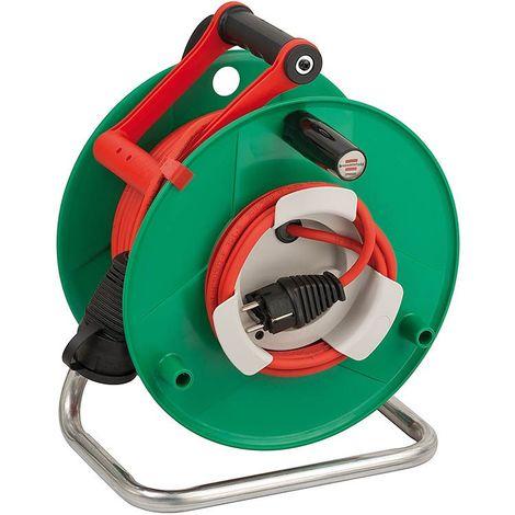 Brennenstuhl Enrouleur de câble de jardin Garant G Bretec IP44 50m AT-N05V3V3-F3G1,5