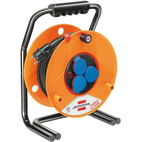 Brennenstuhl Enrouleur de câble industrie/chantiers Brobusta Bretec IP44 25m H07RN-F 3G1,5