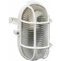 Brennenstuhl - Ovalleuchte Color IP 44 60 W weiß (EEK: E)