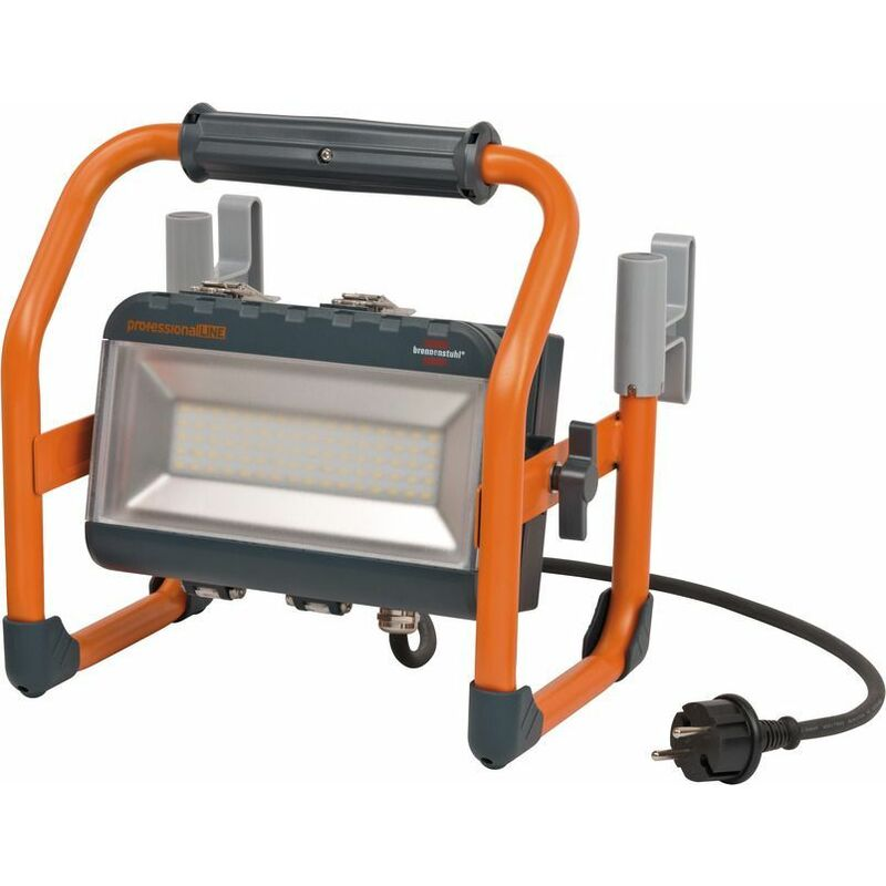 Brennenstuhl Hybrid SMD-LED-Strahler LA 4010 / LED Strahler 18V mit Akku 5Ah und Netzanschluss - 9171220401