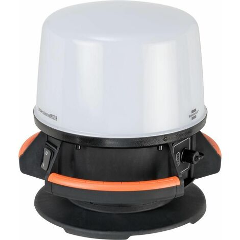 Brennenstuhl ProfessionalLINE Projecteur portable / projecteur de chantier / lampe de chantier LED ORUM 360°, (4000 lumens, IP65) - 9171400401