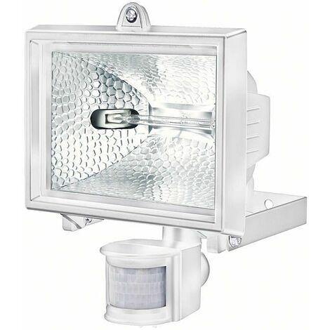 Brennenstuhl Projecteur halogène H 500 IP44 avec détecteur de mouvements infrarouge 400W 8545lm blanc