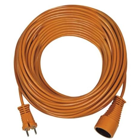 BRENNENSTUHL Rallonge électrique orange 20m 2P 16A/230V~ H05VV-F 2x1.5mm2