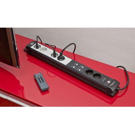 Brennenstuhl Regleta de enchufes Premium Line RC PL1 1001 1951160609