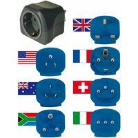 Brennenstuhl Reisestecker-Set mit 10A Sicherung
