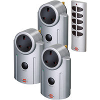 Brennenstuhl Remote Controlled Plug-in Wall Sockets