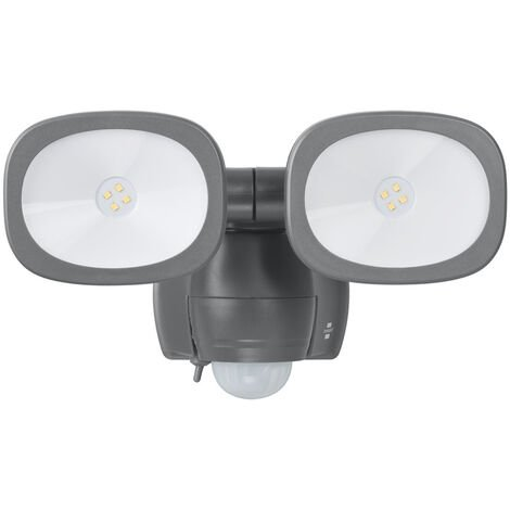 Brennenstuhl Wireless Double 8 LED Outdoor Wall Light