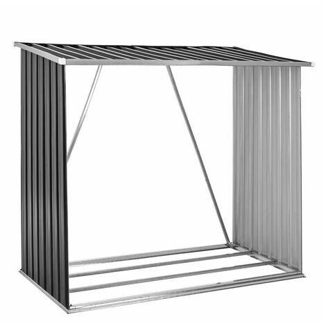 Brennholzunterstand Brennholz Holz Regal Lager Kaminholz Unterstand Metall