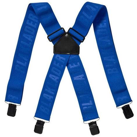 Bretelles de travail Blaklader Bleu Royal Unique