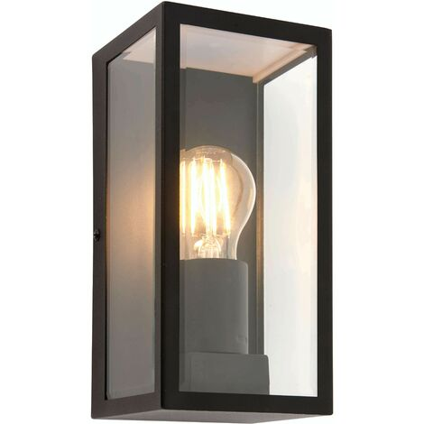 Breton outdoor wall light Stainless steel