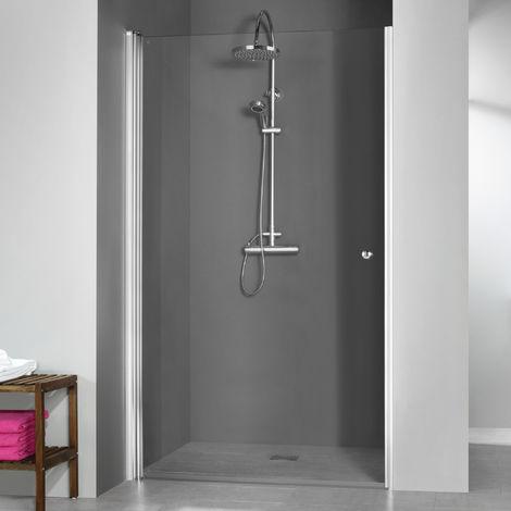 Breuer Dusche Elana 6 Drehtür Nische Anschlag Links 100 cm inkl. CER+ Beschichtung
