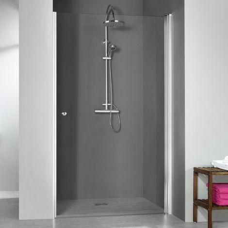 Breuer Dusche Elana 6 Drehtür Nische Anschlag Rechts 100 cm inkl. CER+ Beschichtung
