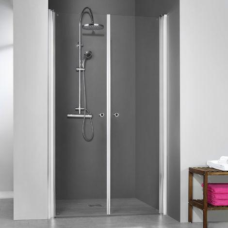 Breuer Dusche Elana 6 Pendeltür Nische 100 cm inkl. CER+ Beschichtung