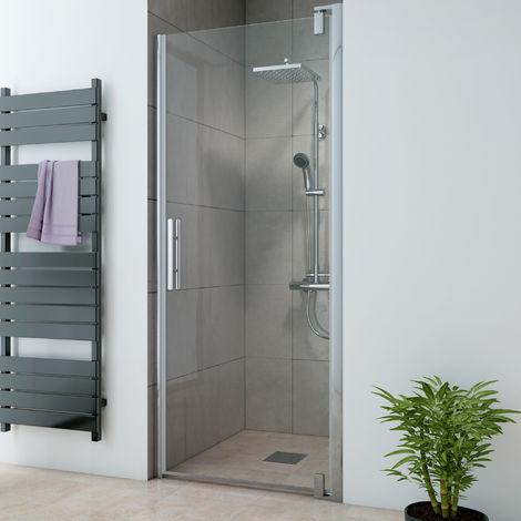 Breuer Dusche Europa Design Drehtür Nische Anschlag Rechts 100 cm inkl. CER+ Beschichtung