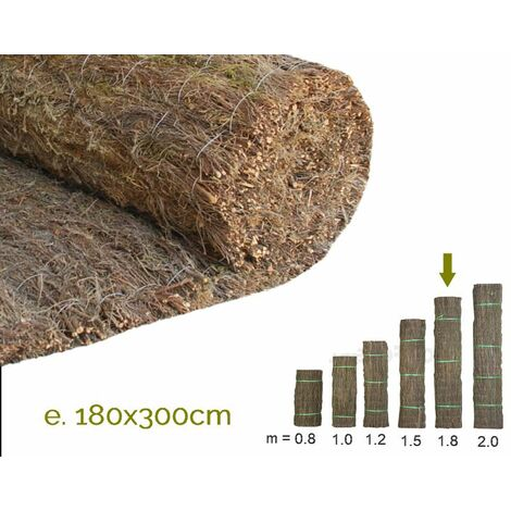 Brezo extragrueso nacional. Rollo 180x300cm