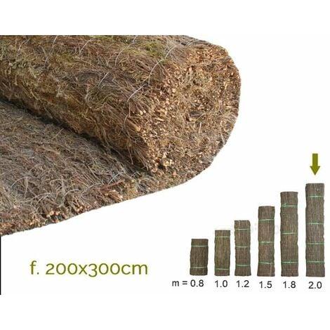 Brezo extragrueso nacional. Rollo 200x300cm