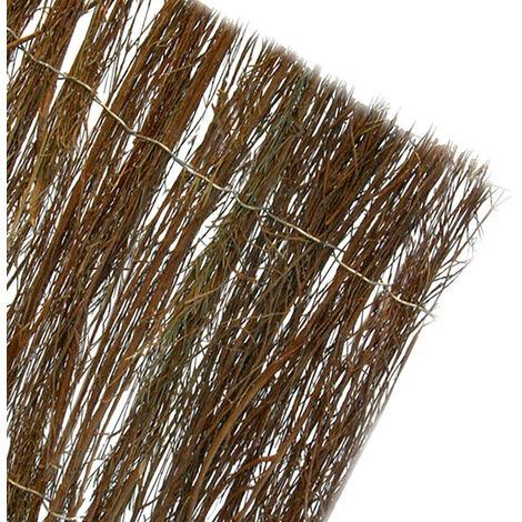 Brezo natural color Marron oscuro medidas 1x5mts (85% ocultacion)
