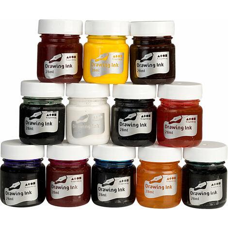 "main image of ""Brian Clegg AK16 Drawing Inks Assortment Set of 12"""