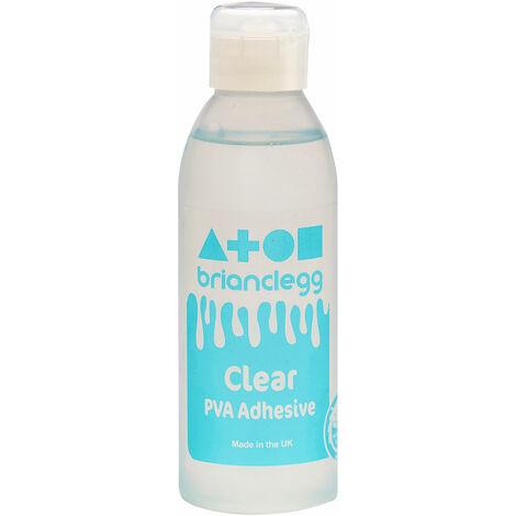 Brian Clegg Clear Label Washable PVA Glue 300ml