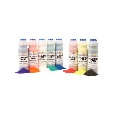 Brian Clegg Coloured Sand Shakers 8x 350g