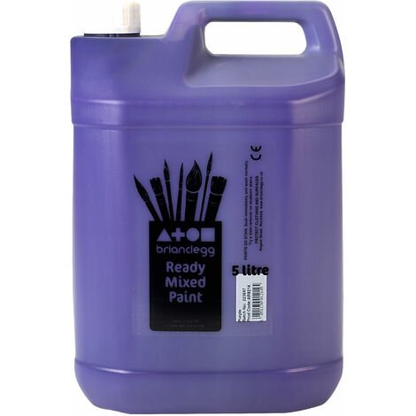 Brian Clegg Ready-mix Paint 5 Litre - Purple