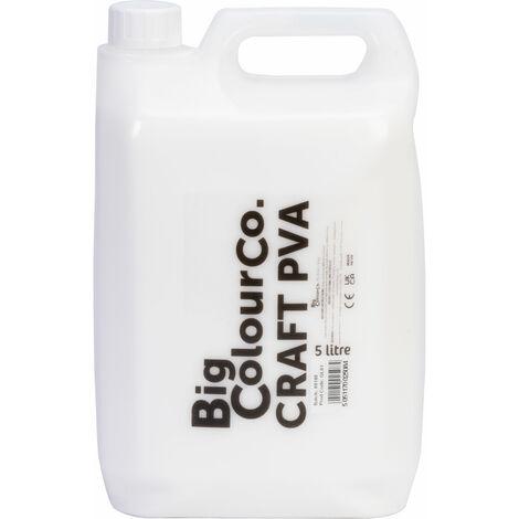 Brian Clegg Red Label Washable PVA Glue 5 Litre