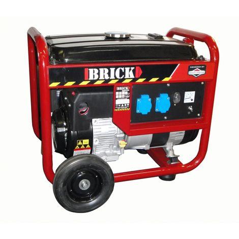 BRICK BGBS3500 - Grupo electrógeno 3000W, motor Briggs y Stratton