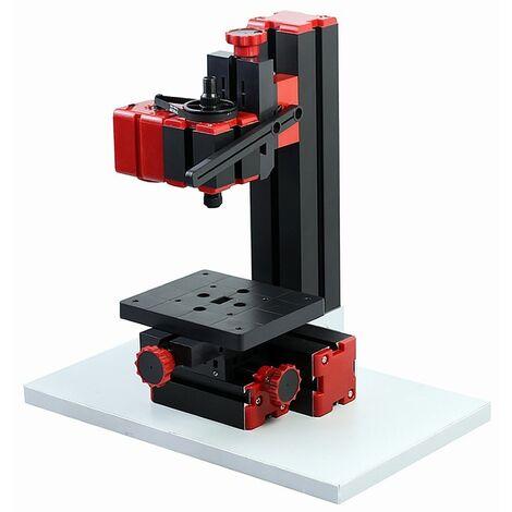 Bricolage 6 en 1 machine multifonction, scie, moulin, perceuse, meuleuse, meuleuse, tour à bois / métal