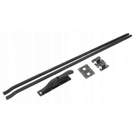 Loquet de garage + baskwil baskwile 350 cm noir